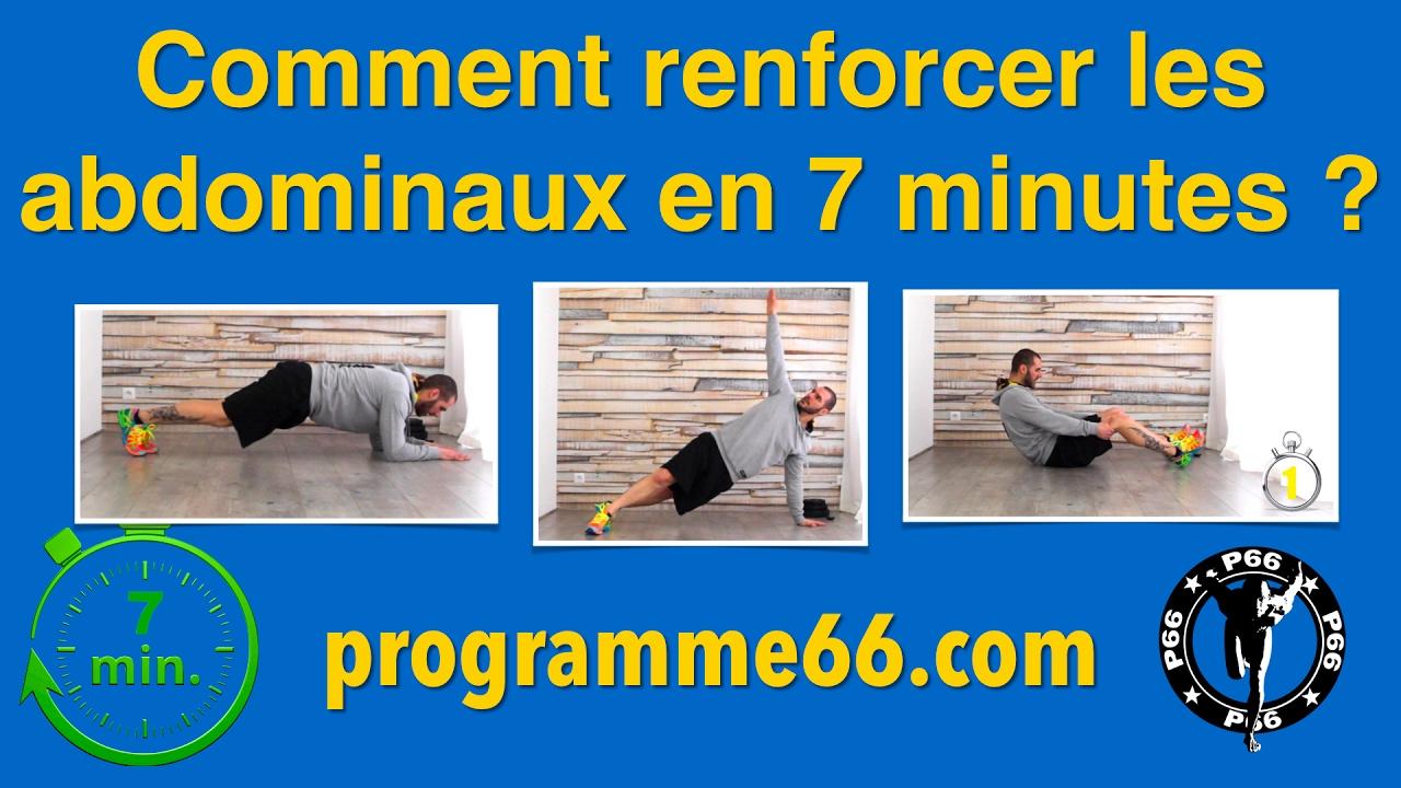 Abdos en 7 minutes chrono la maison exercices fitness - 5 minutes fitness maison ...