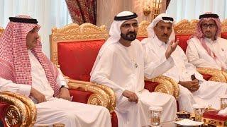 """محمد بن راشد يطلق """"مؤسسة سقيا الإمارات"""" البحثية وجائزة عالمية لحل مشكلة شح المياه"""