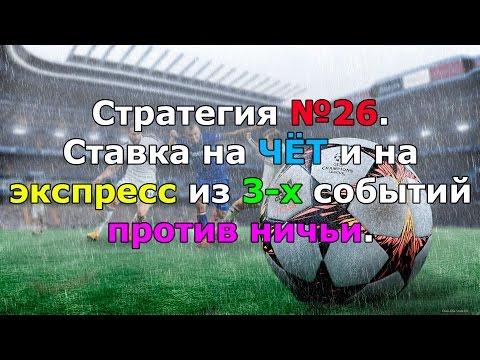 Ставка против ничьи в футболе