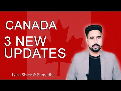 Canada visa|Canada Study Visa|Latest Canadian immigration Updates|Workpermit|International Students|