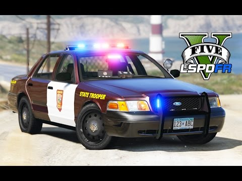 GTA 5 - LSPDFR Ep91 - Minnesota State Patrol - Wild Chases!
