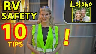 for beginners 10 rv travel safety tips