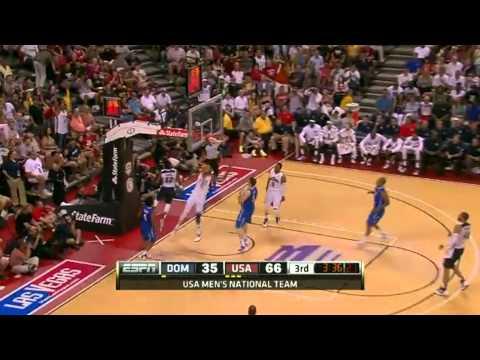 Team USA vs Dominican Republic [Exhibition Basketball]