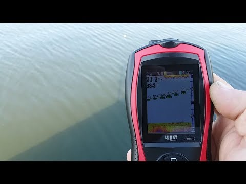 Lucky Portable Fish Finder Transducer Sonar Sensor
