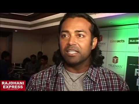 Leander Paes Interview - Rajdhani Express Movie