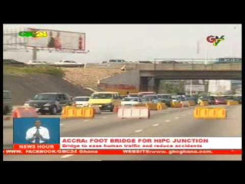 Accra: Foot Bridge For HIPC Junction