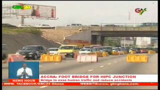 Accra: Foot Bridge For Hipc Junction