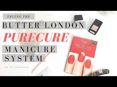 First Impressions   Butter London PURECURE Manicure System