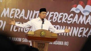 Klarifikasi Menteri Agama Lukman Hakim Saifuddin Terkait LGBT