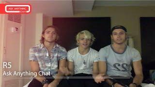 R5 on Saturday Night Online w/ Romeo  - AskAnythingChat