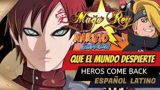 Repeat youtube video Heros Come Back - MAGO REY - Opening 1 Español Latino - Que el mundo Despierte