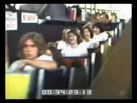 EDGEWATER PARK roller coaster Detroit & TURBO amusement ride