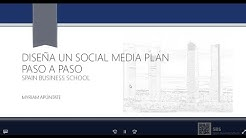 Webinar: Aprende a hacer un Social Media Plan paso a paso