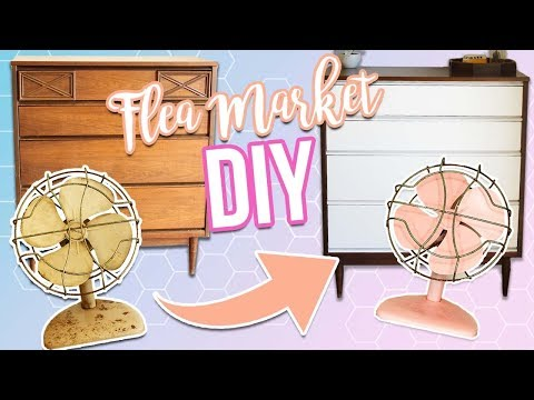 FLEA MARKET FLIP! DIY Home Decor on a Budget