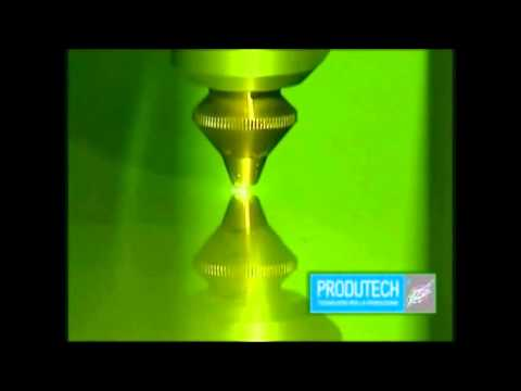 Ductwork Production on the Coil Fed Fiber Laser by Produtech