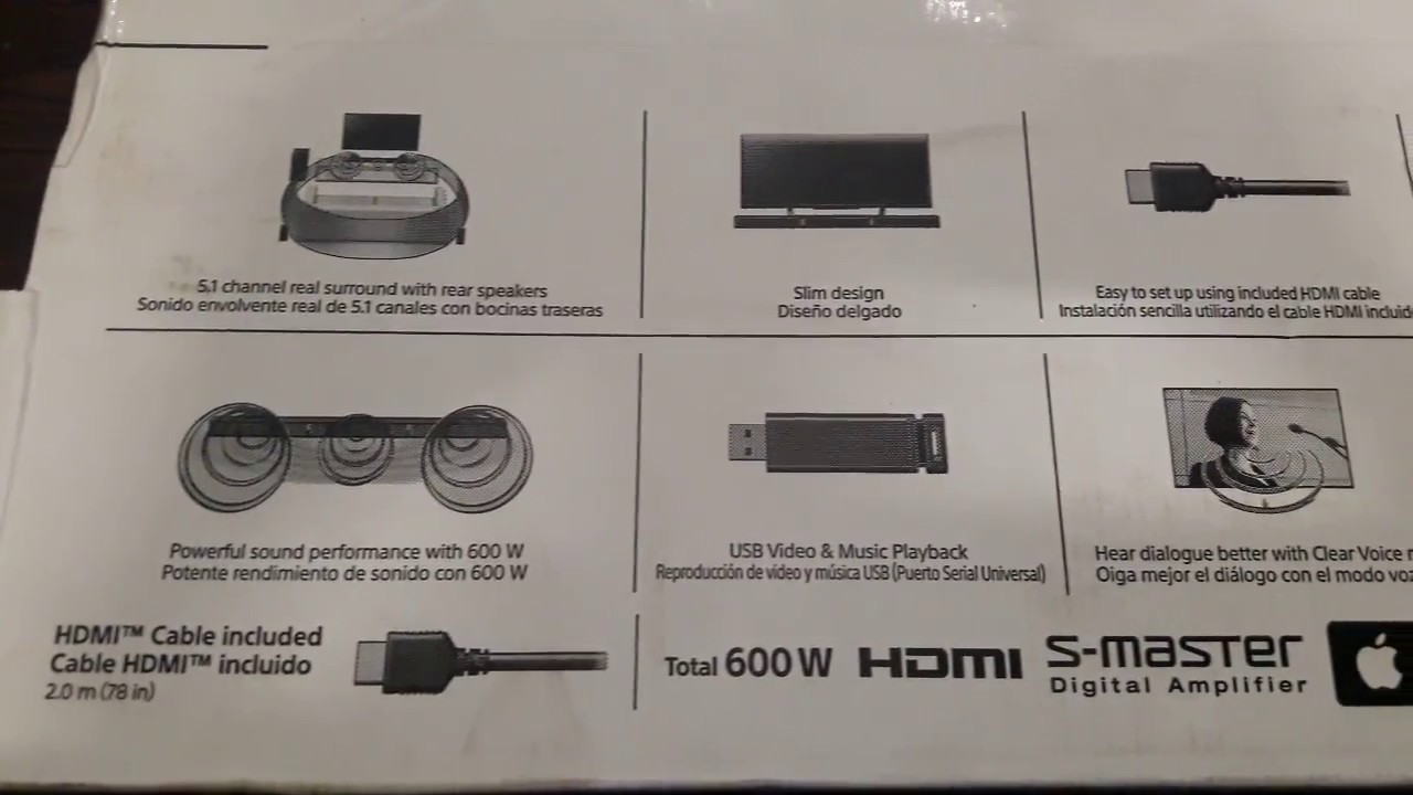 Sony Ht Rt3 Home Theater 5 1 Surround System Unboxing