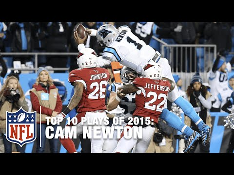 Top 10 Cam Newton Plays of 2015 MVP Season | NFL