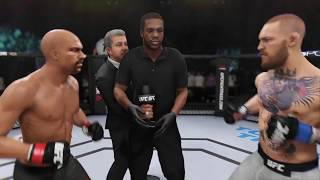 Floyd Mayweather vs. Conor McGregor (EA sports UFC 3) - CPU vs. CPU