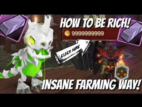 Arcane Legends - How To Be Rich! [INSANE FARMING WAY]