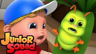 клопы ошибки песня стихи для малышей потешки Junior Squad Russia развивающий мультфильм