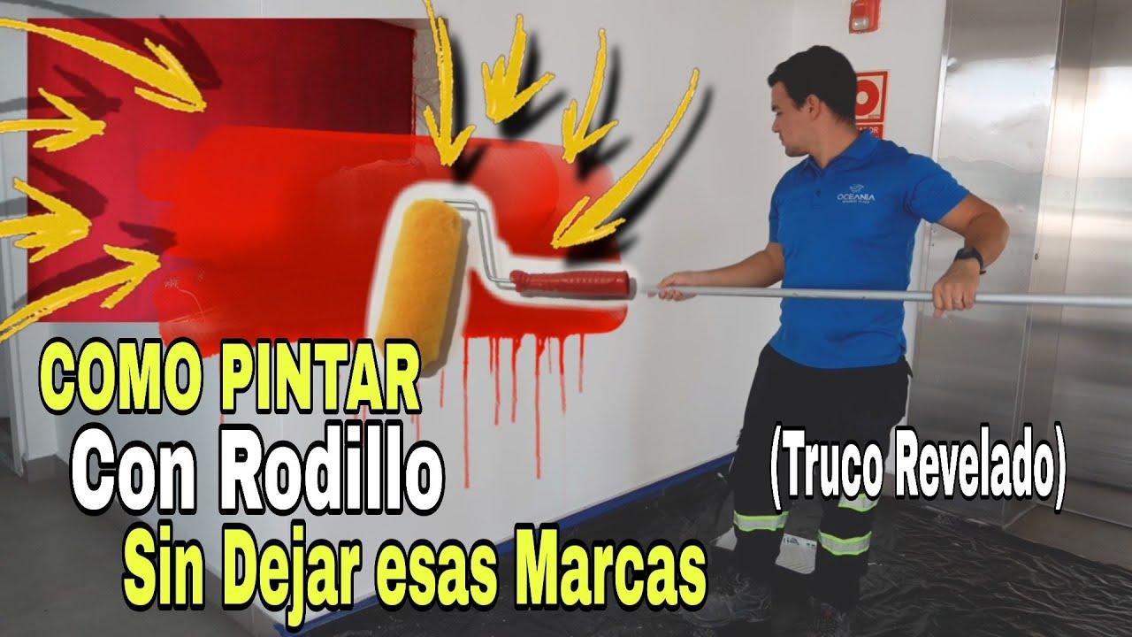 Cómo Pintar Con Rodillo Sin Dejar Marcas Truco Revelado Youtube