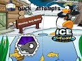 Duck Attempts- Club Penguin Games- Ice Fishing REMASTERED
