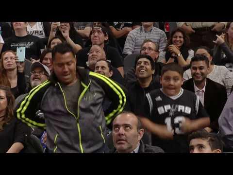 Spurs Fans Dance Off in San Antonio!