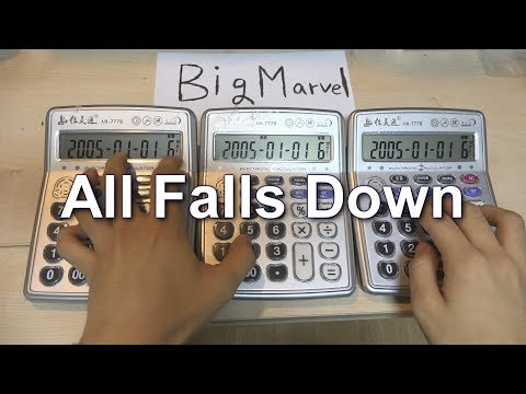 All Falls Down Calculator Cover