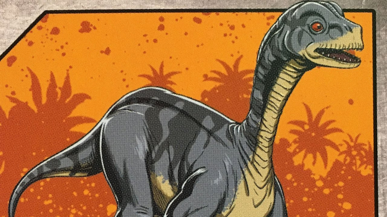 "Mussaurus Dino Rivals Poseable Dinosaur 4/"""