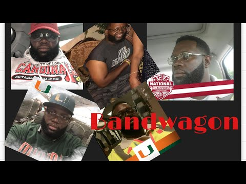 Miami Hurricanes Bandwagon Fan