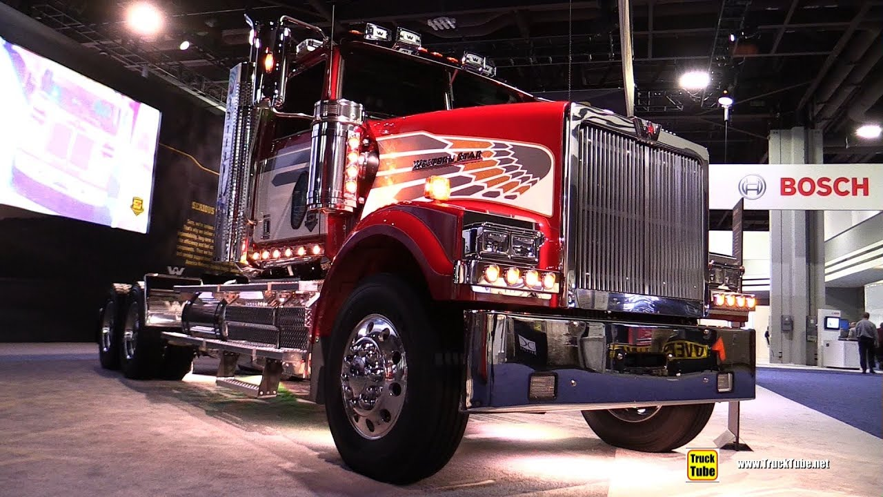 Western Star 4900 >> 2018 Western Star 4900 Sf Tractor Walkaround 2017 Nacv Show Atlanta