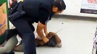 Cop Beats Homeless Woman (VIDEO)