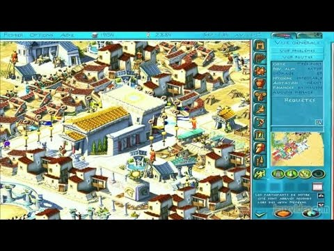 Gaming live Le Maître de l'Olympe : Zeus - Un city-builder à l'ancienne PC - YouTube Gaming