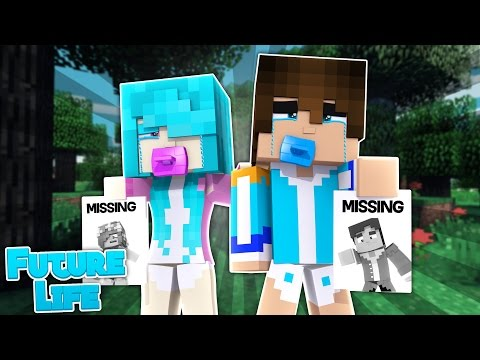 LITTLE KELLY KIDS SEARCH FOR HER AND DONNY! Minecraft Future Life (Custom Roleplay)