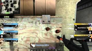 CS:GO Ace 1 v 5  M4A1-S Nitro