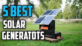 ☑️ Solar Generator: 5 Best Portable Solar Generators In 2018 | Dotmart