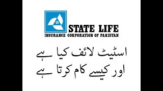 What is State Life Insurance in Urdu