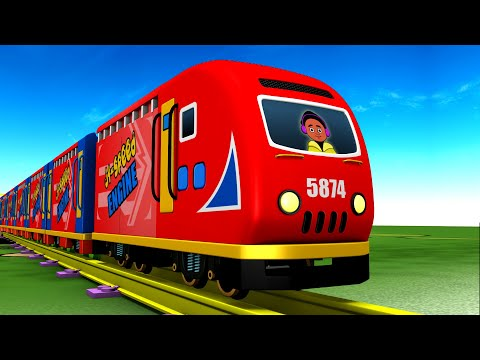 City Life: Cartoon Toy Train for Kids || Toy Factory Videos for Children | Kids Videos for Kids