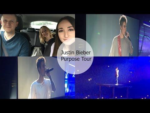 Justin Bieber Purpose Tour, Genting Arena, Birmingham Vlog   24/10/2016