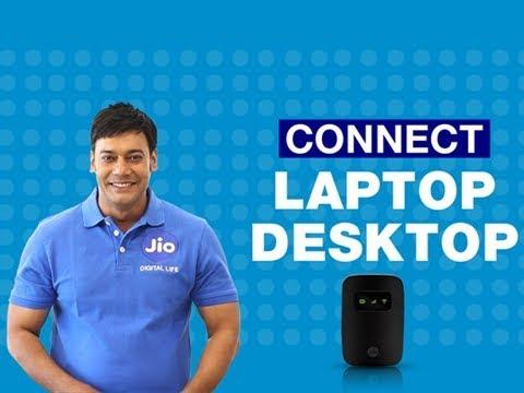 JioFi - How to Connect JioFi to your Laptop or Desktop   Reliance Jio