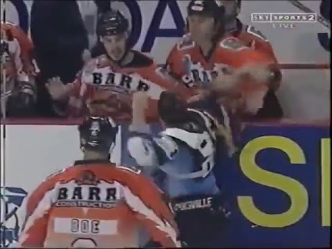 British Ice Hockey Superleague Fights 1996-03 Vol 1