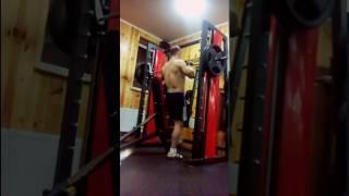 Жим сидя 100kg на 2 раза ( в Смите ) | 78kg