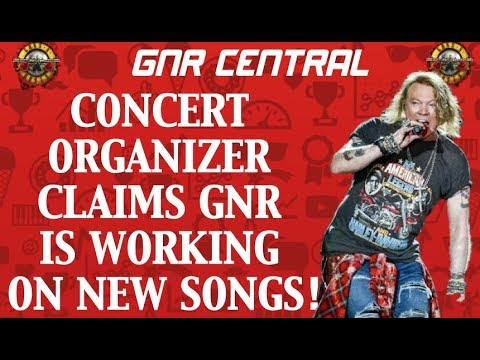 Guns N' Roses News: Russian Concert Organizer Claims GNR Working on New Songs!