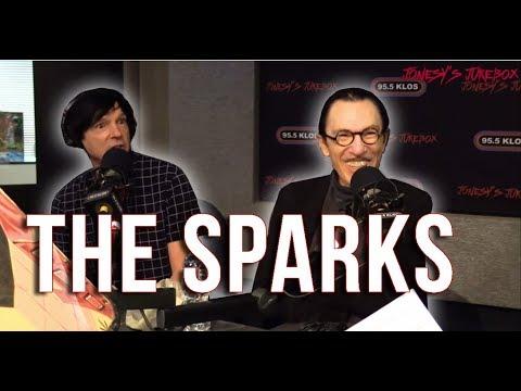 Sparks in-studio on Jonesy's Jukebox