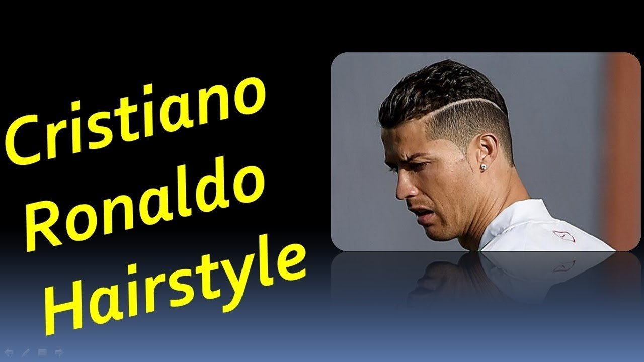 Cristiano Ronaldo All Hairstyle Cr7 Best Haircuts 2017 Youtube