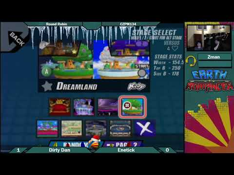 CZPM134: Enetick (Lucario) vs Dirty Dan (Diddy) Round Robin