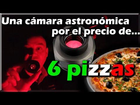 Svbony SV205, una cámara planetaria muy barata. ? La Luna, Júpiter y Saturno. ?