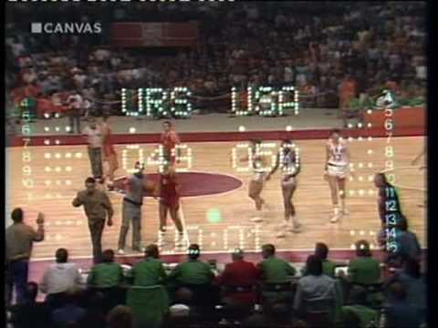 Olympic Games 1972 Drama Finale Basket USA USSR - YouTube