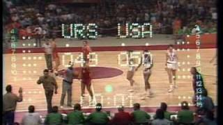 Olympic Games 1972 Drama Finale Basket USA USSR