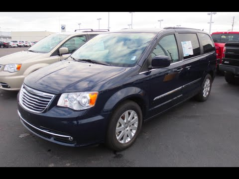 Town And Country >> 2013 Chrysler Town And Country Touring Full Tour Youtube